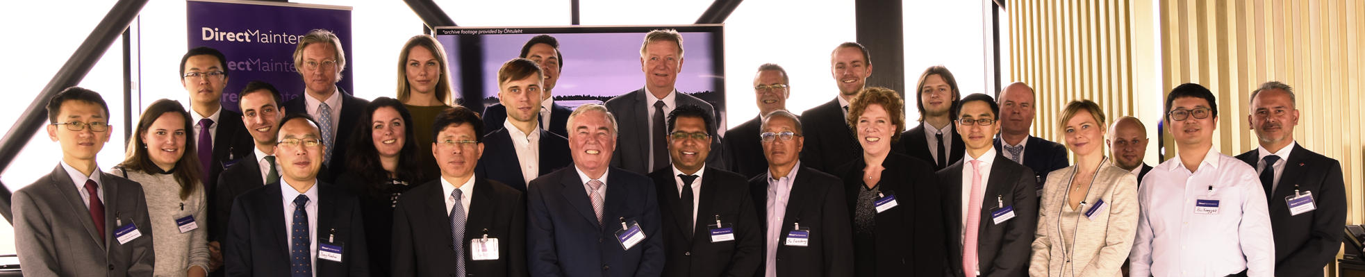 Magnetic MRO welcomes Direct Maintenance to the group with a ceremony in Amsterdam
