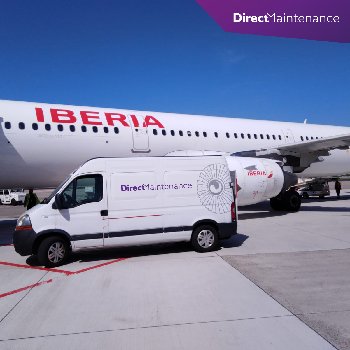 Direct Maintenance partners with Iberia at Düsseldorf (DUS) station