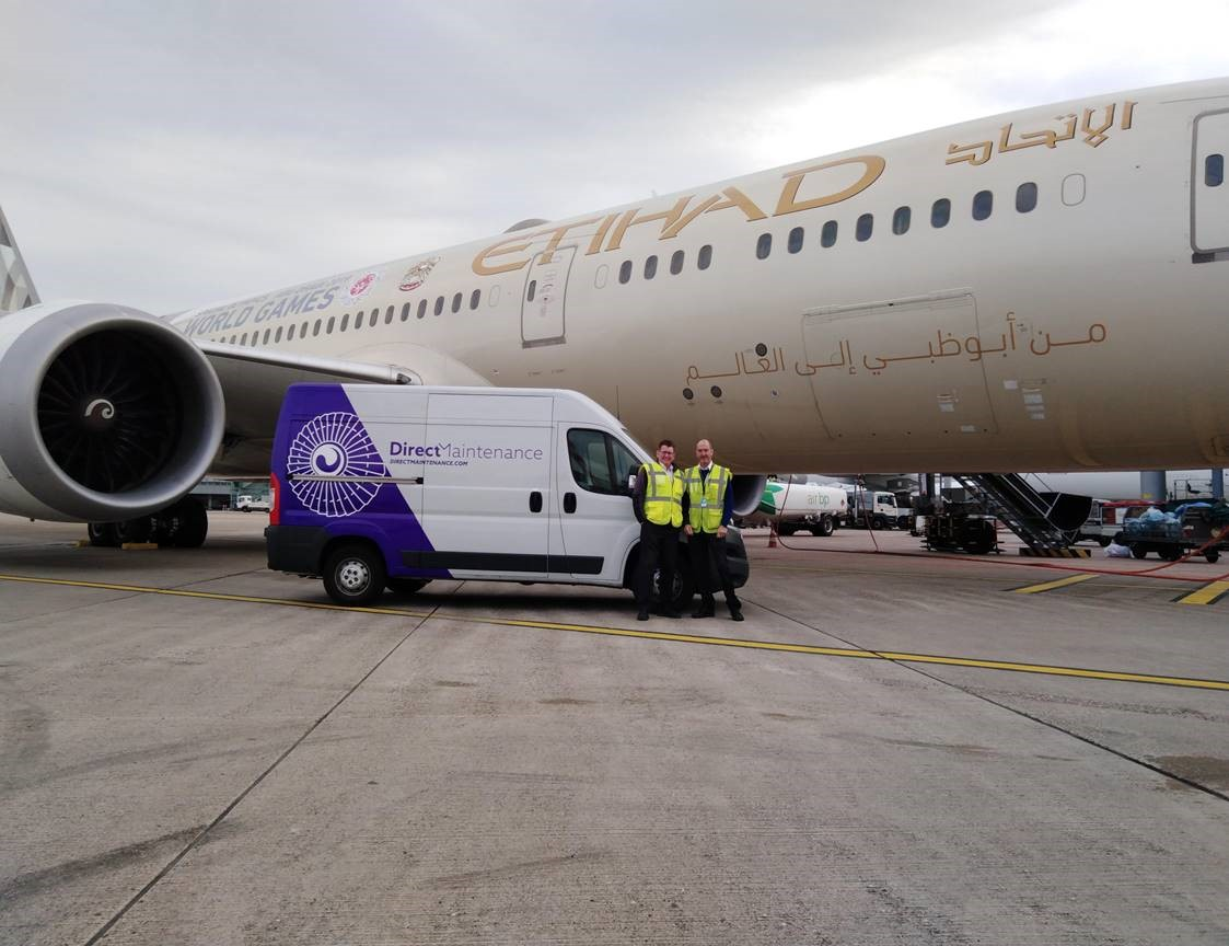 Direct Maintenance extends Etihad Airways partnership to Dusseldorf (DUS) station