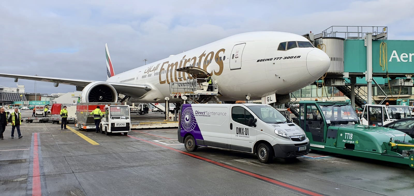 Direct Maintenance partners up with major flag carrier airline in Dublin