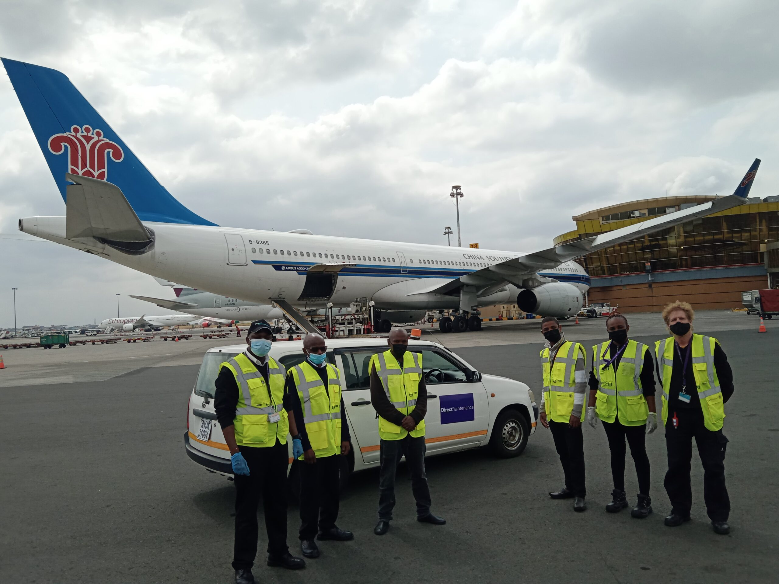 Expanding partnerships: Direct Maintenance providing line maintenance services for China Southern Airlines in Africa